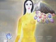 《灵感取自东方浪漫》 画展(组图)