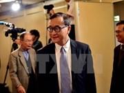 柬埔寨反对党救国党主席桑兰西因涉嫌多种罪名被法院再次发出逮捕令