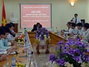 越南驻柬埔寨大使馆举行企业见面会