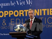 越美经济教育合作前景广阔