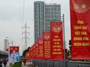 越南共产党第十二次代表大会召开在即  各项筹备工作就绪