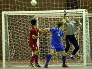 2016亚洲五人制足球锦标赛热身赛:越南队战平乌兹别克斯队