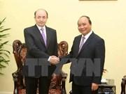 越南政府副总理阮春福会见阿塞拜疆客人
