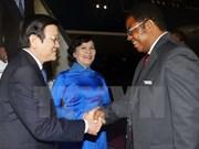 张晋创主席访问坦桑尼亚助推两国关系迈上新台阶