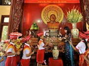 孙德胜主席逝世36周年纪念典礼在安江省举行