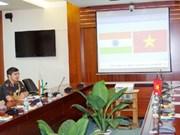 印度驻越大使访问越南通信联络大学