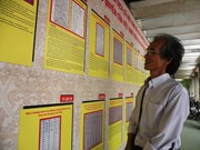 """广南省举行""""黄沙长沙归属越南:历史证据和法律依据""""资料展"""