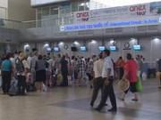越南航空局严处殴打中国乘客的机场工作人员