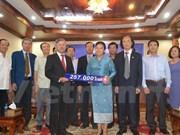 老挝就越南南方发生旱灾向越南提供救灾援助