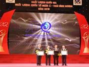 80家企业荣获2015年度越南国家质量奖与国际质量奖