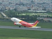 越捷航空公司正式开通芽庄至清化新直达航线