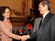 越南胡志明市同中国云南省推进合作
