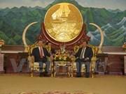 越南公安部高级代表团访问老挝