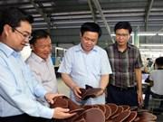 政府副总理王廷惠视察坚江省若干投资项目实施情况
