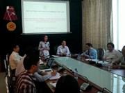 越共中央民运部部长张氏梅探访越南橙色剂受害者协会