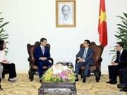 越南政府副总理武德儋会见韩国雇佣劳动部长官李基权