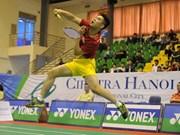 2016年河内Ciputra国际羽毛球锦标赛吸引324名运动员参赛