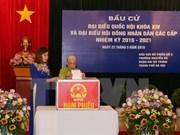 越南全国选民对选举取得圆满成功充满信心