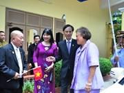 越泰建交40周年:泰国公主探访越南驻泰大使馆