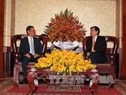 胡志明市与老挝阿速坡省促进在多领域合作