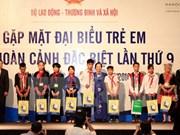 优秀特殊儿童表彰大会在河内举行
