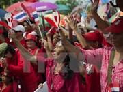 """泰国""""红衫军""""开设新宪法公投监督中心"""