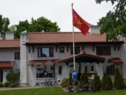 """设在加拿大的""""越南屋""""颇受游客的关注"""