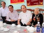 阮春福总理莅临得乐省调研强调加强农业结构调整