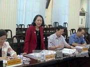越共中央民运部部长张氏梅赴北宁省调研