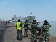 印尼在印澳边境海域进行巡逻