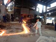 越南钢铁生产量同比增长19.3%