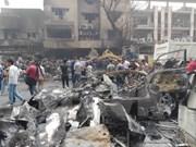 越南国家主席陈大光就伊拉克首都巴格达发生炸弹袭击事件向伊拉克总统致慰问电