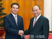 政府总理阮春福会见老挝客人