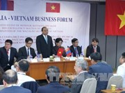 越南政府总理阮春福出席越蒙企业论坛