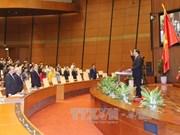 第十四届国会一次会议:陈大光主席的讲话彰显越南民族的决心和意志力