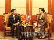越南与老挝加强贸易领域合作