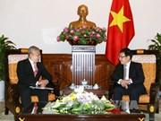 越南政府副总理兼外交部长范平明会见印尼驻越南大使
