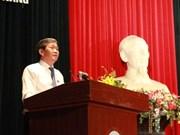 越南党和国家领导分别会见全国各地选民