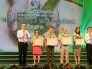 27个作品获得自然资源与环境新闻奖
