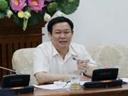 王廷惠副总理:越南存款保险公司应积极参与银行结构调整过程