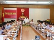 越南政府副总理张和平赴广宁省调研