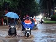 越南北部和北中部地区遭遇暴雨致至少7人死亡