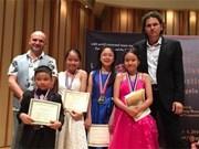 越南在2016年美国Lansum国际音乐节荣获22个奖项
