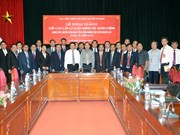 为老挝干部举行的高级政治理论培训班在河内开班