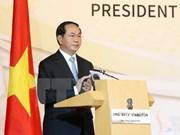 越南国家主席陈大光出席新加坡—越南企业论坛