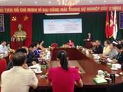 越南协助老挝促进红十字会事业发展