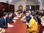 越共中央民运部部长张氏梅结束对俄罗斯的访问之旅