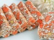 阮村的螃蜞饼:太平省的特产