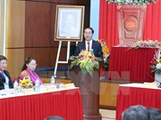 越南国家主席陈大光与越南劳动总联合会举行会议