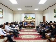 越南工商部与老挝各部门加强合作